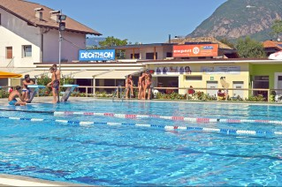 Lido di Laives - Piscina e Zona Bar
